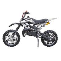 DIRT BIKE Mini moto 50 cc 2 Temps Enfant - Noire - Livrée Prete a Rouler