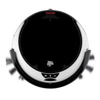 DIRT DEVIL M611 Aspirateur robot Fusion ultra slim - 14,4V - 65 dB - Noir