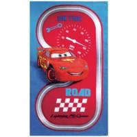DISNEY - Cars Road - Drap de plage - Coton - 70 x 120 cm