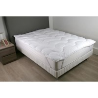 DODO Surmatelas 160 x 200 - Polyester fibre haute technologie - Moelleux - CONTRY