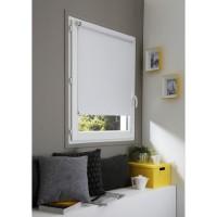 DOMDECO Store enrouleur occultant sans perçage - Blanc - 67x190 cm