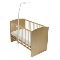 DOMIVA Fleche simple pour lit bébé - Blanc - Hauteur 152 cm