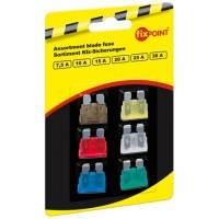 SORTIMENT 1026 KFZ-fusibles 6 pcs.