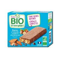 DUKAN Barres Bio aux amandes - Chocolat et noisettes - 120 g