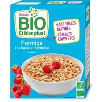 DUKAN Porridge fraises framboise Bio - 300 g