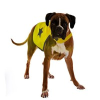 DUVO Gilet de sécurité réfléchissant - 56 cm - Jaune fluo - Pour chien