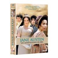 DVD Jane Austen - Coffret - Les adaptations de BBC
