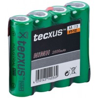 AA 2500mAh NIMH FT-1Z 4-SP tecxus