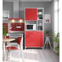 ECO Buffet de cuisine L 80 cm - Rouge brillant