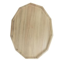 ECO DESIGN A2152A Assiette polygonale Blis L Acacia