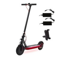 ECOGYRO GScooter S9 XBOOST - Trottinette électrique - 2 Chargeurs + support smartphone