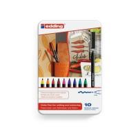 EDDING Boite de 10 feutres de coloriage E1300