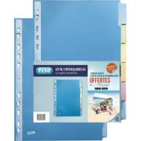 ELBA Intercalaires Color Life - 6 positions - A4