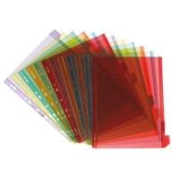 ELBA Paquet de 12 intercalaires personnalisables A4 - PVC - 17/100