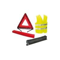 Ensemble Triangle signalisation + Veste sécurité