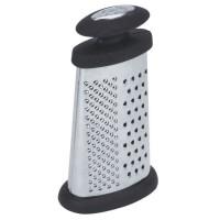 EQUINOX Mini râpe + poignée 8x4,5x16 cm gris