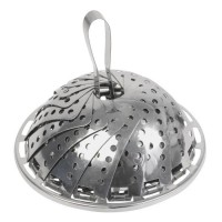 EQUINOX Panier vapeur gris