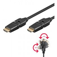 HDMI+ Câble HiSpeed/wE 0100 G-360°