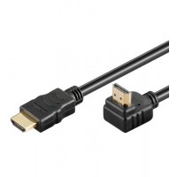 HDMI+ Câble HiSpeed/wE 0100 G-90°