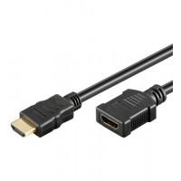 HDMI+ Câble HiSpeed/wE 0500 G-Ext