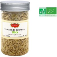 ERIC BUR Graines de Tournesol Biologiques - 180 g