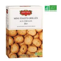 ERIC BUR Mini Toast Céreales Biscuit Bio 150g