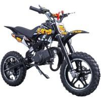 E-ROAD Dirt Bike Pocket Cross 49.9 cc - Noir