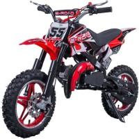E-ROAD Dirt Bike Pocket Cross 49.9 cc - Rouge