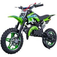 E-ROAD Dirt Bike Pocket Cross 49.9 cc - Vert