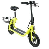 E-ROAD Mini scooter électrique - Mini Cocobeach - 350 W - 36 V - 4.4 Ah - Jaune fluo