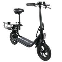 E-ROAD Mini scooter électrique - Mini Cocobeach - 350 W - 36 V - 4.4 Ah - Noir