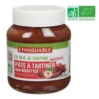 ETHIQUABLE Pâte a tartiner aux Noisettes Bio - 350g