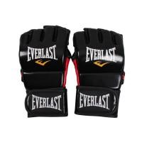 EVERLAST Gants d'entrainement de MMA - Noir brillant - Taille S/M