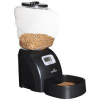 EYENIMAL Distributeur automatique de croquettes 45x20x47 cm - Noir - Pour chat et petit chien