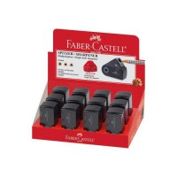 FABER-CASTELL Mini taille-crayon Sleeve - 1 usage - Noir