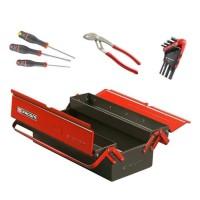 FACOM Boite métallique avec 13 outils - 3 cases