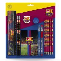 FC BARCELONA Set scolaire de 13 pieces - Camp nou