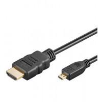 HDMI+ Câble HiSpeed/wE 0100 G-MICRO