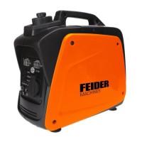 FEIDER Groupe électrogene a essence Inverter FG900IS - 700 W a 780 W - Orange et noir