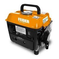 FEIDER Groupe électrogene a essence Portable FG800 - 650 W a 720 W - 63 cm³ - Orange et noir