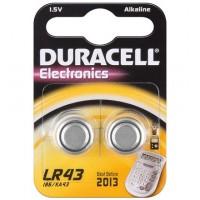 LR 43 / AG 12 / V 12 GA Duracell 2BL