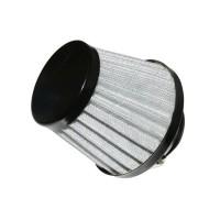 filtre a air replay kn middle fd noir/argent fixation droite diam 35/28 (hauteur 64mm)