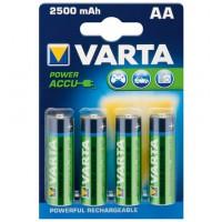 AA 2500MAH NIMH 4-BL Varta (56756)