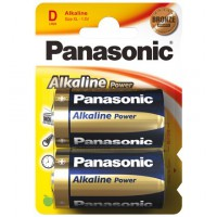 LR 20 PAP 2-BL Panasonic alcaline POWER