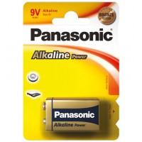 6 LR 61 PAP 1-BL Panasonic alcaline POW