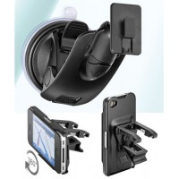 Holder for iPhone 4 (ventclip+window)