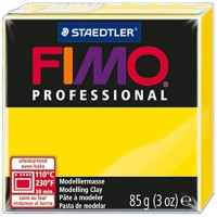 FIMO Boîte 4 Pieces Fimo Professionnel 85G Citron
