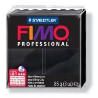 FIMO Boîte 4 Pieces Fimo Professionnel 85G Noir