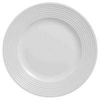 FINLANDEK Assiette plate Stripe - 27 cm - En porcelaine - Rond - Convient lave-vaisselle