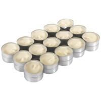 FINLANDEK Lot de 30 bougies Chauffe-plat - Couleur creme